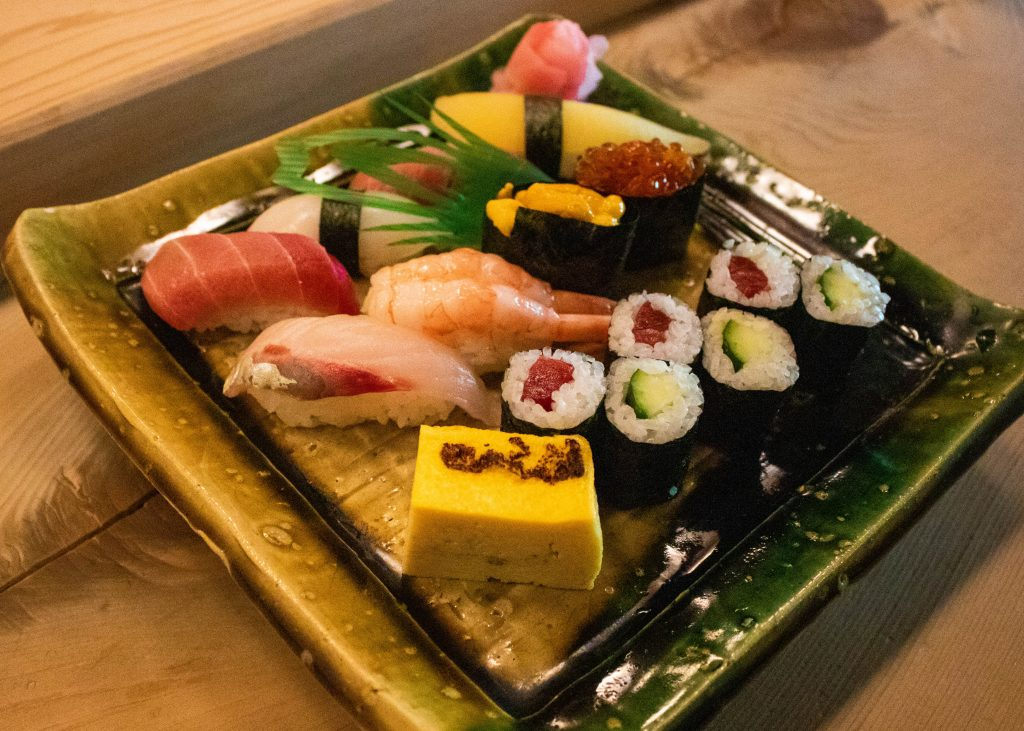 特上寿司・・・2550円